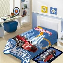 Cobertor Juvenil Raschel 1,50 x 2,00 m Hot Wheels - Jolitex - Hot Wheels - Jolitex