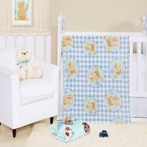 Cobertor manta bebe baby flannel fofo - mimo - Etruria