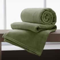 Cobertor Manta De Microfibra King 2,20x2,40m Corttex Sage -