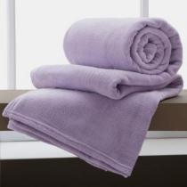 Cobertor Manta De Microfibra King 2,20x2,40m Corttex Violeta -