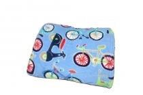 Cobertor Manta Microfibra Solteiro Hd Printed Lambreta Corttex - Corttex