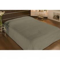 Cobertor microfibra casal 2,20mx1,80m bege  - camesa - Camesa