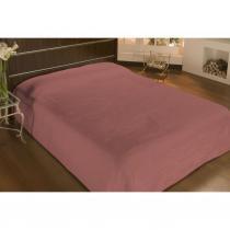 Cobertor microfibra casal 2,20mx1,80m rose  - camesa - Camesa