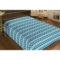 Cobertor Microfibra Remix 180g Solteiro 150x220 Ikat Camesa - Camesa
