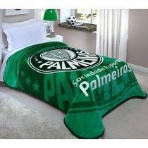 Cobertor Palmeiras Macio 150X200  Corttex -