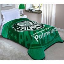 Cobertor Palmeiras Macio 150X200  Corttex - Corttex