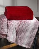 Cobertor Plush Tweed Queen 130x160 Sicilia Laca Hedrons - Hedrons