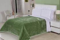 Cobertor Queen Nobre Liso - Pistache - Etruria