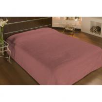Cobertor solteiro microfibra liso 1,50x2,20m rose - camesa - Camesa