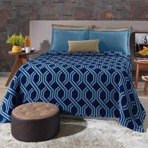 Cobertor Solteiro Plush Estampado Trellis - Hedrons - Hedrons
