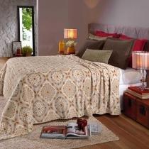 Cobertor Solteiro Plush Estampado Ville - Hedrons - Hedrons