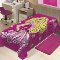 Cobertor Solteiro Raschel Licenciado - Jolitex - Jolitex