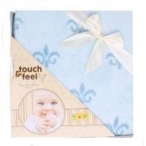 Cobertor Touch Feel Azul - Colibri