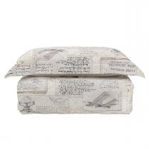 Cobre Leito King 290X245cm Com Porta Travesseiro Ellie Karsten -