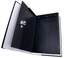 Cofre camuflado livro dicionario 2 chaves joias dinheiro aço (888451) - Ab midia