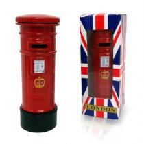 Cofre Londres Retro Vintage Caixa Correio Dinheiro Moeda Cofrinho (03073) - Chen