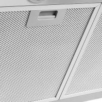 Coifa em vidro curvo inox duto slim de 80 cm - 127 volts - Prata - Fogatti