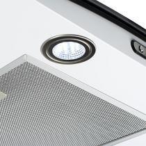 Coifa em vidro curvo slim white de 60 cm - 220 volts - Branco - Fogatti