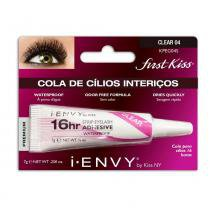 Cola para Cílios 16hr Strip Eyelash Adhesive Waterproof First Kiss - Cola para Cílios Postiços -