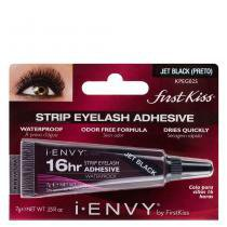 Cola para Cílios Postiços 16hr Strip Eyelash Adhesive Waterproof First Kiss -
