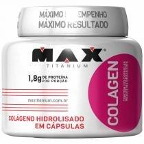 Colagen 500 - 100 Cápsulas - Max Titanium - Max Titanium