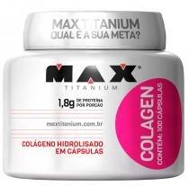 Colagen 500 Max Titanium - 100 caps - Max Titanium