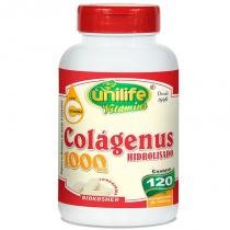 Colágeno Hidrolisado 1000mg 120 cápsulas Unilife - unilife