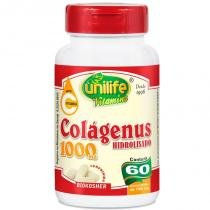 Colágeno Hidrolisado 1000mg 60 cápsulas Unilife - unilife