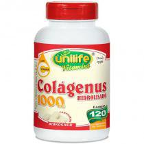 Colágeno Hidrolisado Colágenus 120 cápsulas Unilife -