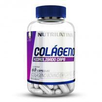 Colágeno Hidrolisado Nutrilatina PowerFit - 60 Cápsulas - Nutrilatina