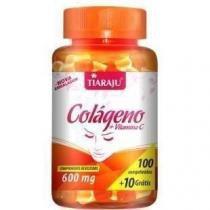 Colágeno + Vitamina C 600mg - 100+10 Cápsulas - Tiaraju - Tiaraju