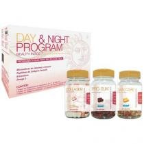 Colágeno / Vitamina Day & Night Program - 120 Cápsulas - Probiótica