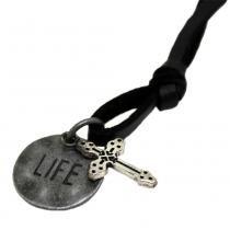 Colar Masculino Cross of Life - Skuldman