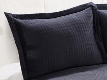 Colcha King Size 100% Microfibra 150 Fios - Camesa Boutis Loft 3 Peças