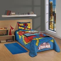 Colcha Matelassê Solteiro Spider- Man Ultimate- Lepper -