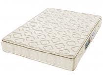 Colchão de espuma minaspuma queen saude d33 com pillow 158 x 188 x 22 cm -