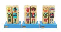 Coleção cilindros monstros e heróis - NEWART DO BRASIL