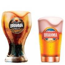 Coleção Copo Brahma - 1 Black 430 ml + 1 Chopp 350ml - Ambev