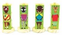Coleção cubos animais  verde - NEWART DO BRASIL