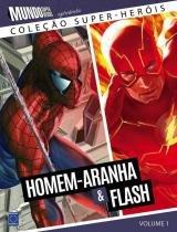 Colecao super-herois 1 - homem-aranha  flash - Europa