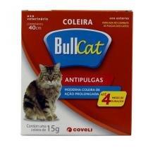 Coleira Bullcat Antipulgas e Carrapatos p/ Gatos 40cm - Coveli - Coveli