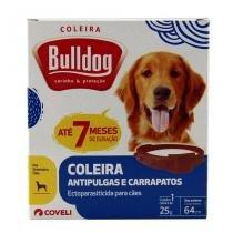 Coleira Bulldog Anti-Pulgas e Carrapatos p/ Cães 64cm - Coveli -