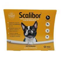 Coleira Scalibor Cães Peq e Med Porte 48cm até 20kg MSD -