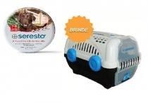 Coleira Seresto Cães acima de 8kg - Combo 2 coleira GRÁTIS CAIXA DE TRANSPORTE - Bayer