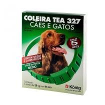 Coleira TEA Konig 327 Cães e Gatos 28g 44cm -
