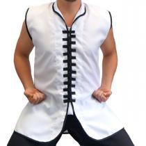 Colete para Kung Fu - Jugui - Branco - M - Jugui
