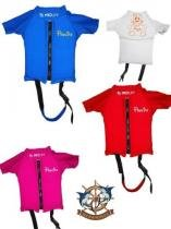 Colete Prolife Kids Infantil Floater Em Lycra para crianças - Vermelho - 4 anos -