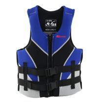 Colete salva vidas 40/50kg preto e azul - VENTURA - Nautika - Nautika