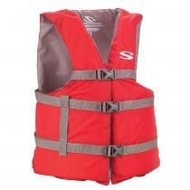 Colete Salva-Vidas Boating Adulto Vermelho 100Kg - Stearns - Vermelho - Coleman