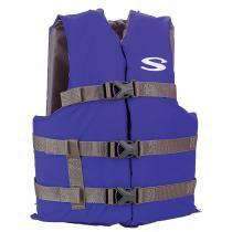 Colete Salva-Vidas Boating Juvenil Azul 40Kg - Stearns - Coleman